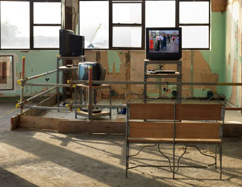 Unearthed, exhibtion image, Carpenter's Warehouse, Olympic Park