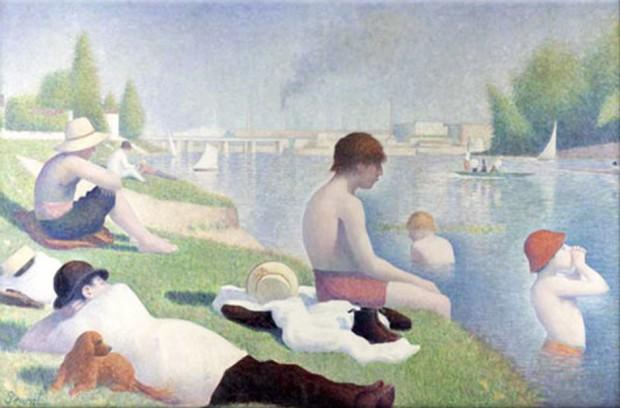 Seurat-Bathers-at-Asnieres-