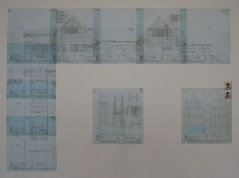 Unearthed: archeolagists drawing of the studios prior to demolition, James Dixon