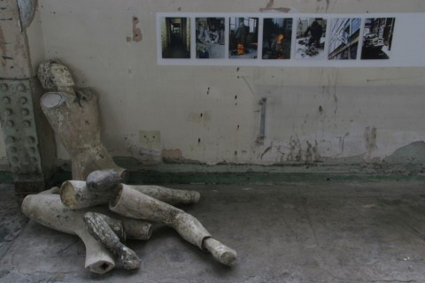 Unearthed: Simon Stringer, bronze casting at Carpenters Road Studio