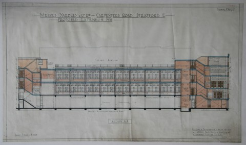 Unearthed: Carpenters Road architects drawings