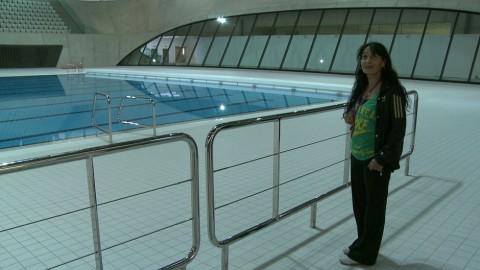 Sam at Olympic Pool